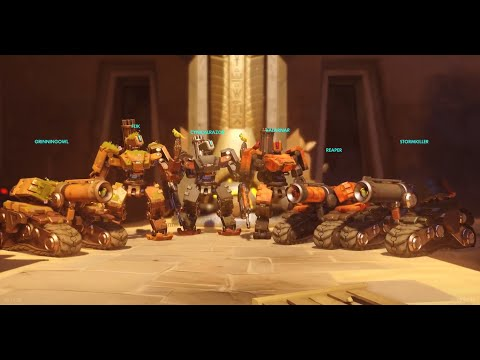 Overwatch - 6 Bastion Go On The Attack