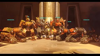 Overwatch Meme Team - 6 Bastion Go On The Attack