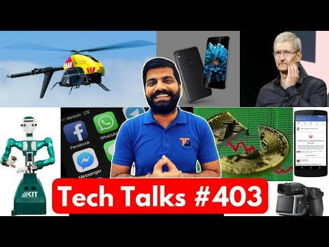 Tech Talks #403 - Under Display Camera, 400MP Camera, Tecno Camon I, Bitcoin Falls, PayTM Cash