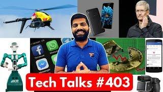 Tech Talks 403 - Under Display Camera 400MP Camera Tecno Camon i Bitcoin Falls PayTM Cash