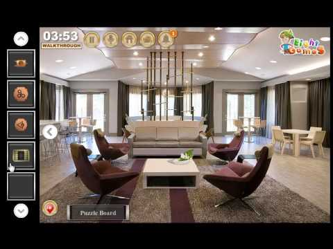 Modern Clubhouse Escape Game EightGames Walkthrough - YouTube