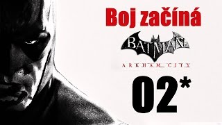 CZ tit. | Let's Play | Batman: Arkham City | #02 | NG+ | 1080p