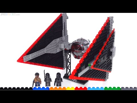 LEGO Star Wars Sith TIE Fighter (Dagger) review & honest thoughts! 75272
