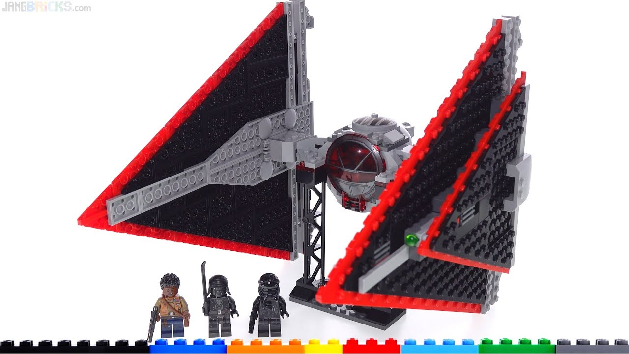 Lego Star Wars Sith Tie Fighter Dagger Review Honest Thoughts 75272 Youtube