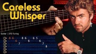 Careless Whisper - George Michael Guitar Tutorial TABS | Cover Guitarra Christianvib