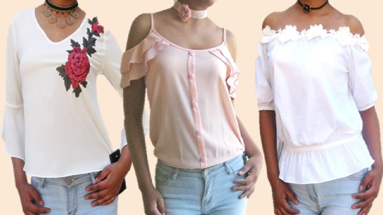 Blusas de moda 2017 moda en blusas 2017 blusas primavera - Blusas de ultima moda ...