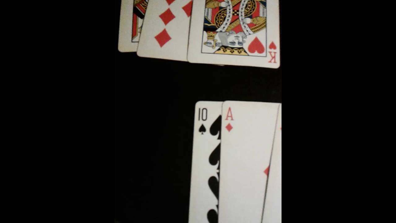 using playing cards, to answer yes or no, , and give ...