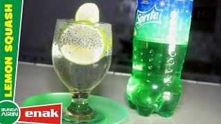 Lemon Squash Sprite Minuman Ala Restoran Mahal - Resep Minuman Segar - Bunda Airin