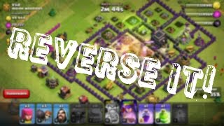 Clash of Clans| A Battle In Reverse=WTF!