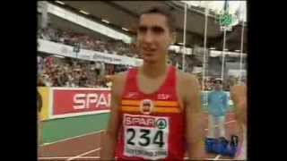 Goteborg 2006 1.500m Hombres Final Higuero, Casado, Gallardo