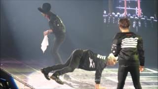 160305-6 MADE Final: [FULL] GD, YB, Dae Reaction to Seungri Twerking & Single Ladies
