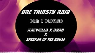 one thirsty raid dom g bootleg mashup krewella x dyro x speaker of the house