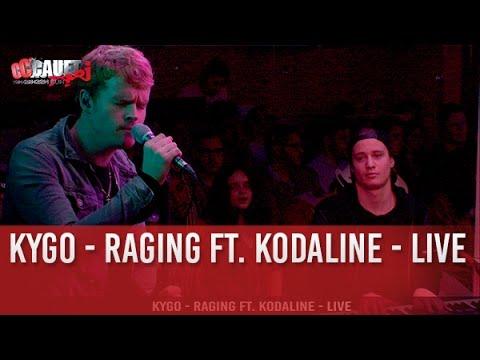 Kygo - Raging ft. Kodaline - Live - C'Cauet sur NRJ