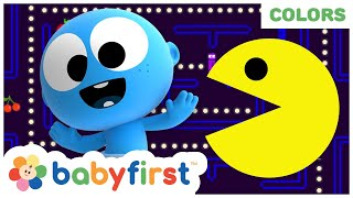 Playing Pacman With Color Crew & GooGoo Baby | 1 Hour Compilation of My Color Friends | BabyFirst