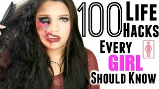 100 Beauty Life Hacks Every Girl Should Know! Ultimate Life Hacks!