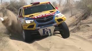 Turkmen Desert Race 2018 - Opel Crossland X az első szakaszon