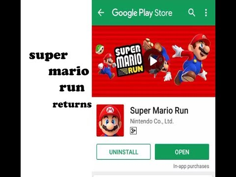 Super Mario Game Android App In Play Store