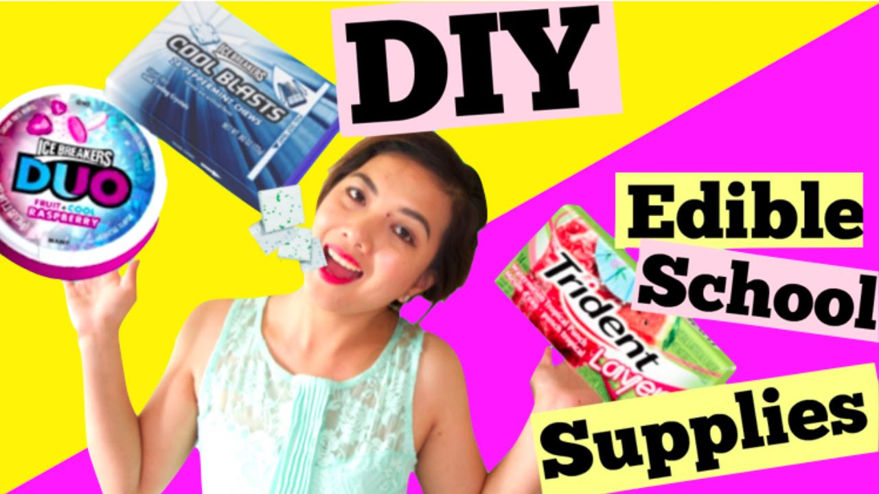 cool school supplies diy edible school supplies part 2 cool blast duo pop 30781
