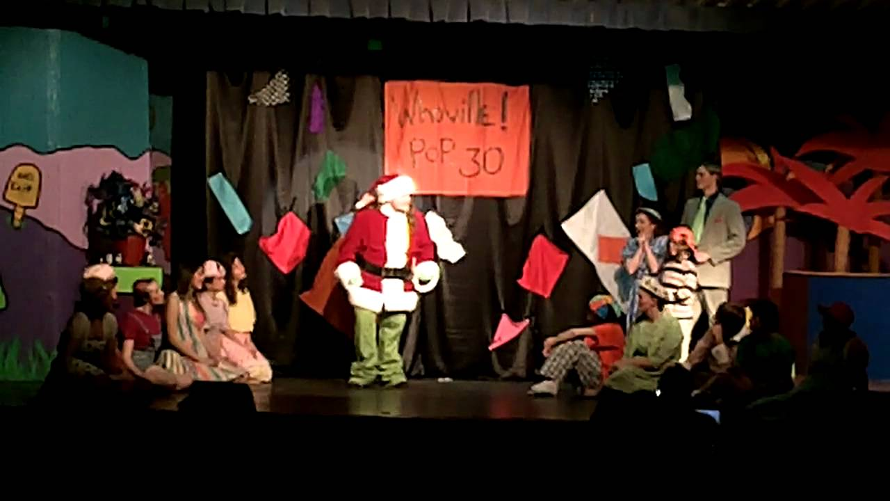 Seussical the musical the whos grinch xmas tale youtube