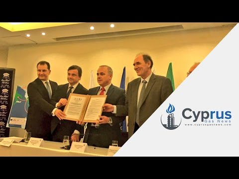 Energy ministers from Cyprus , Greece, Israel  and Italy sign EastMed agreement