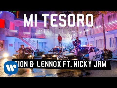 descargar letra Mi Tesoro Nicky Jam ft Zion & Lennox Official Music Video 2017