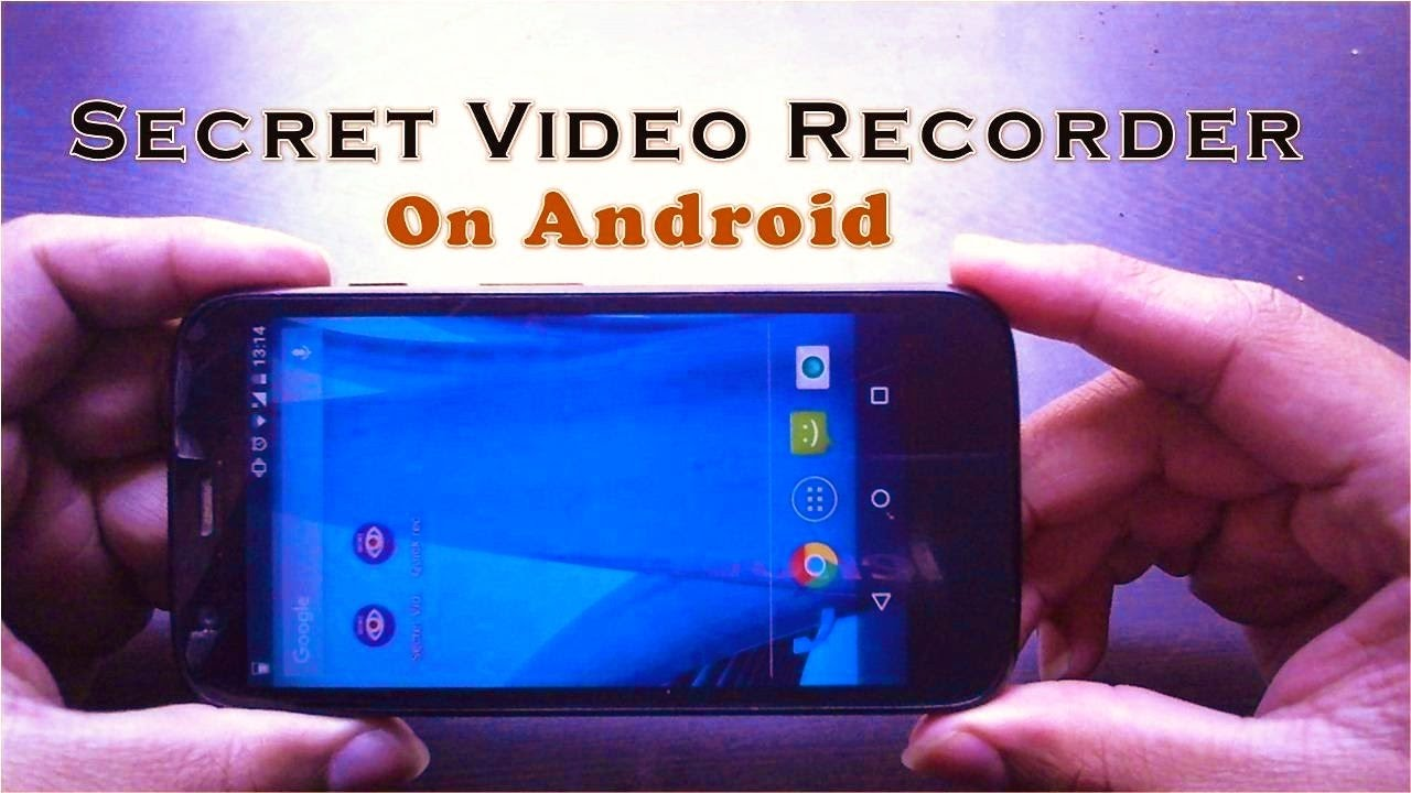 How to Secretly Record Videos on Android By SVR Apps Learn In Hindi/Punjabi