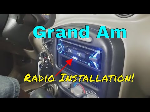 2005 Pontiac Grand Am Ram Air Radio Install B&S Customs DIY Trim Dash Removal