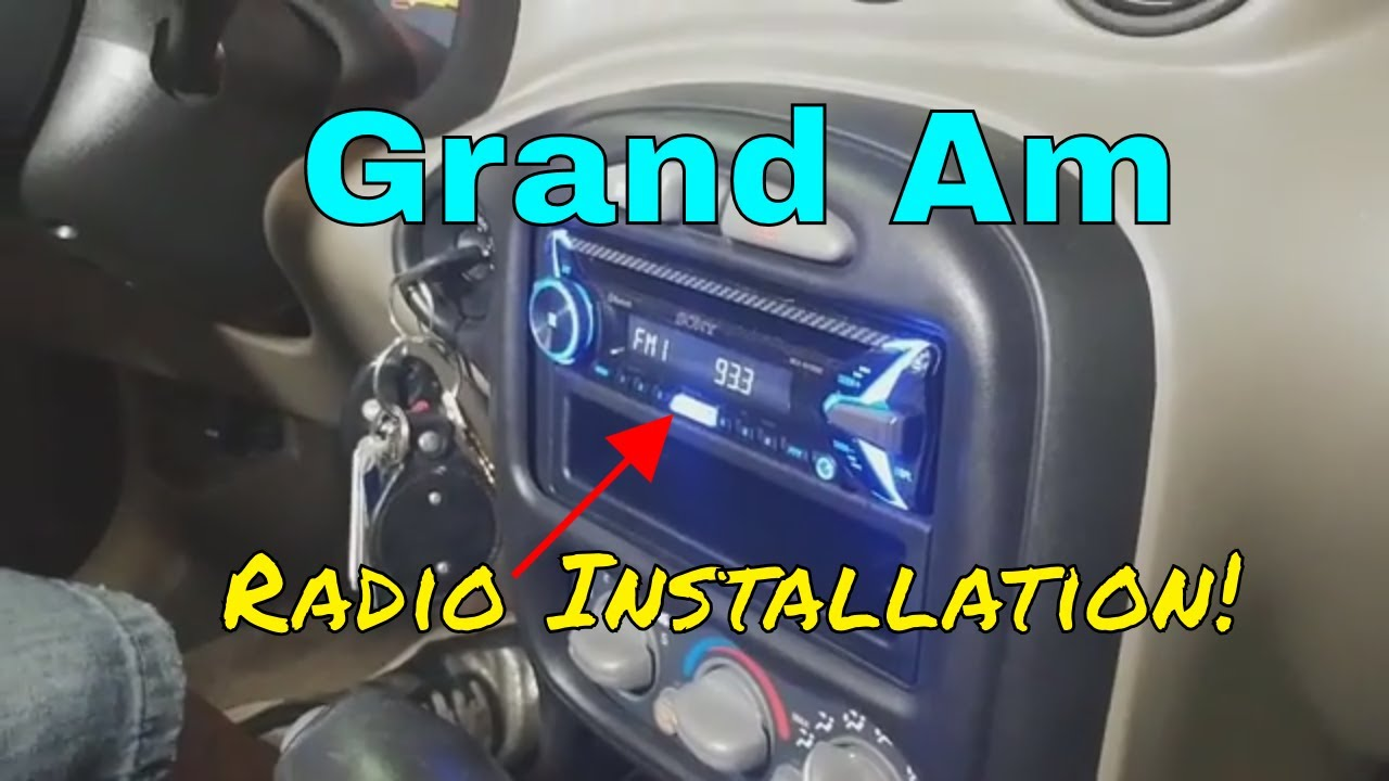 2005 pontiac grand am ram air radio install b s customs diy trim dash removal youtube 2005 pontiac grand am ram air radio install b s customs diy trim dash removal