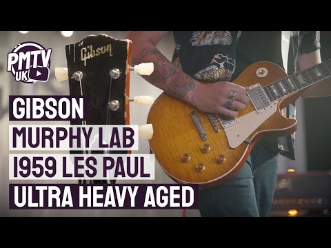 Gibson Murphy Lab Ultra Heavy Aged 1959 Les Paul!  Straight From the Custom Shop In All It&39;s Glory!