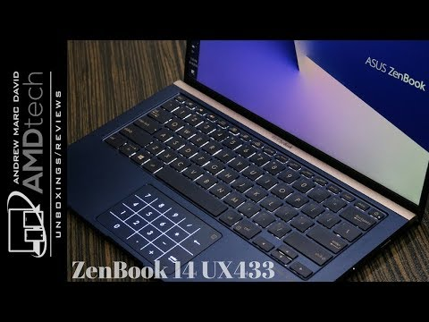 Asus ZenBook 14 UX433 Review: A Great MacBook Air Alternative