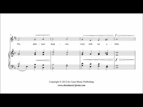 Abide With Me - Saxophone