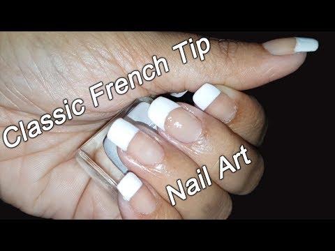 French Tip Nail Art Tutorial | For Beginners | Fab Nails thumbnail