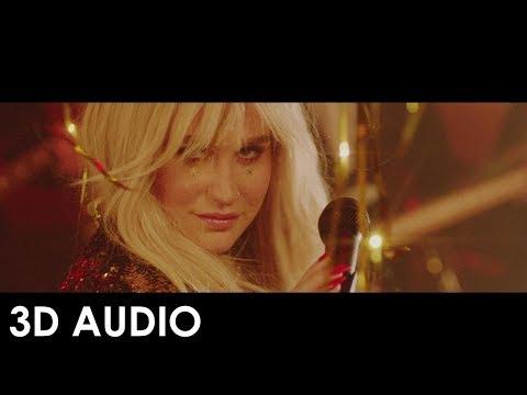Kesha  - Woman ft. The Dap Kings Horns [3D AUDIO]