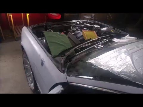 1995 BMW E38 740i - M60B40 Timing Tensioner Replaced