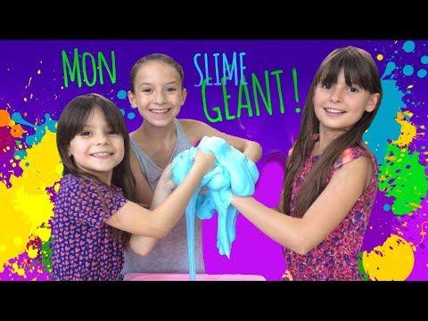 Lévanah alias MARIE-CAMILLE dans NOS CHERS VOISINS fait un SLIME géant avec ses sœurs ! FUN VIDEO !