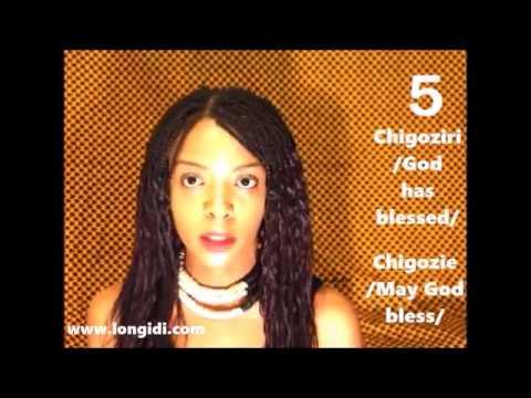My Top Ten Igbo Names