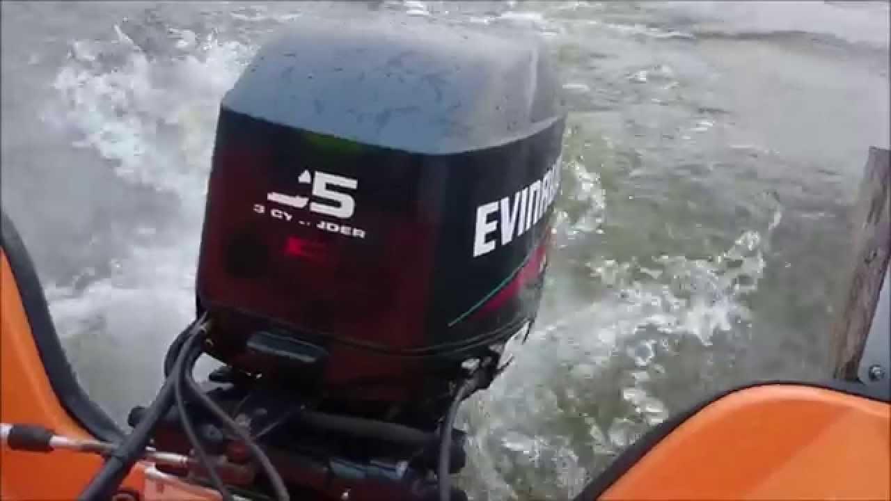 Bränsleblandning båtmotor evinrude