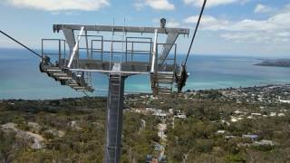 Eagle chair lift at Arthurs seat Dromana