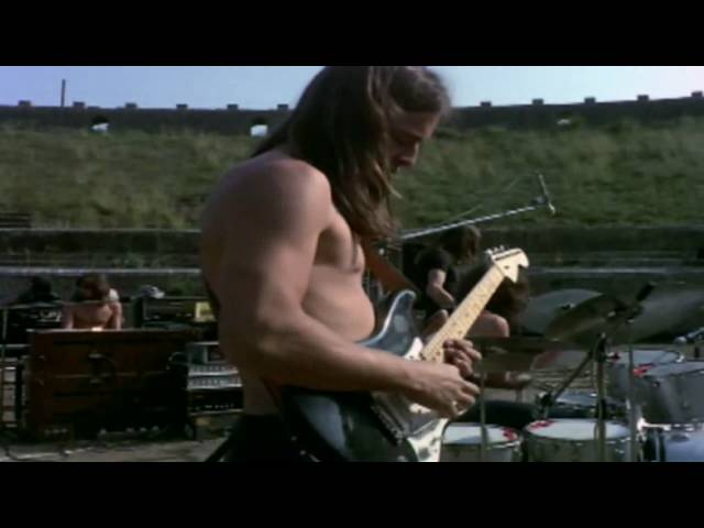 PINK FLOYD, LIVE AT POMPEII, REMINDING A GLORIOUS PAST AND