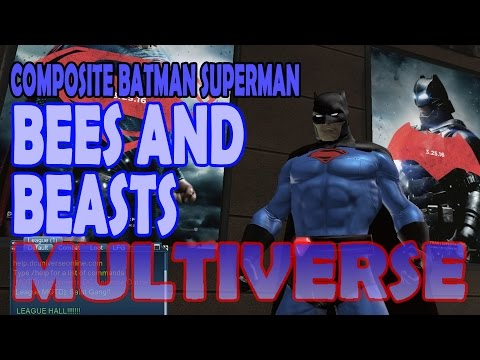 Composite Batman Superman; Part 04 Bees and Beasts