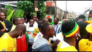 Les Maliens derrière les Aigles à Douala ( Chan 2021)