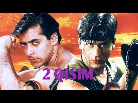 Karan va Arjun 2 Qisim 720p HD {Hind filim} Ozbek tilida