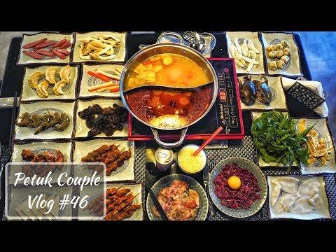 আমাদের প্রথম Chinese Hotpot Buffet Experience || Nikkei || Petuk Couple - VLOG #46