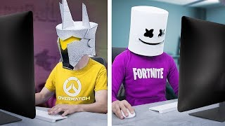 10 DIY Fortnite vs Overwatch Stress Relievers