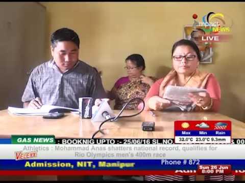 Impact News Manipuri 26 June 2016