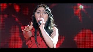 X-Factor4 Armenia--Gala Hamerg 01-Inna Sayadyan/Celine Dion-I surrender-19.02.2017