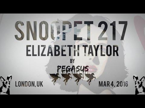 Snoopet 217 - Elizabeth Taylor by Pegasus
