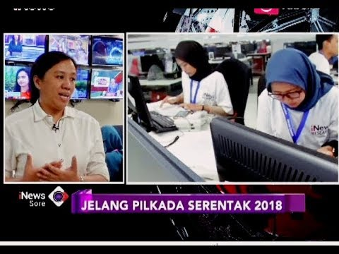 Sistem Quick Count INews Research Pada Pilkada Serentak 2018 - INews Sore 26/06