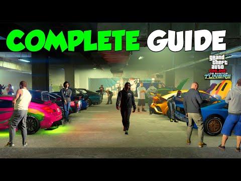 Complete Los Santos Car Meet Tour & Guide | GTA Online Los Santos Tuners