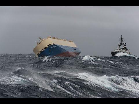 SMIT Salvage -  Salvage of car carrier M/V Modern Express